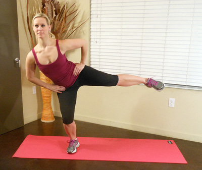Five minute Booty Blaster Workout with the Bertinator